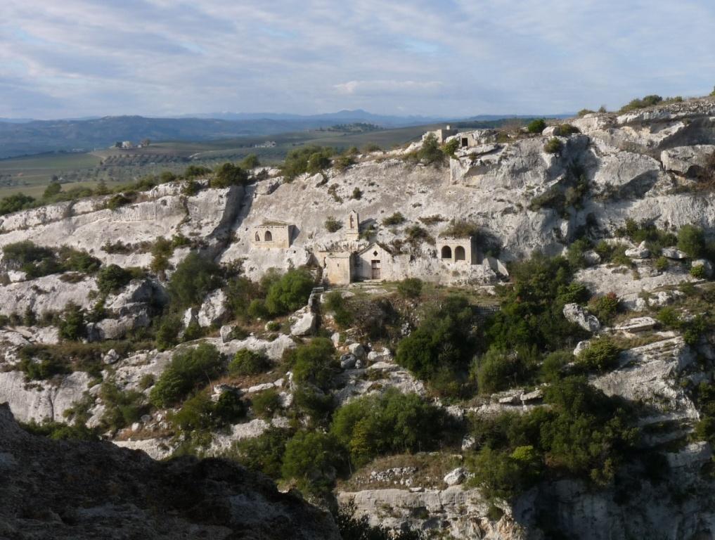 Chiesa rupestre di Cristo La Selva, nel Parco della Murgia Materana