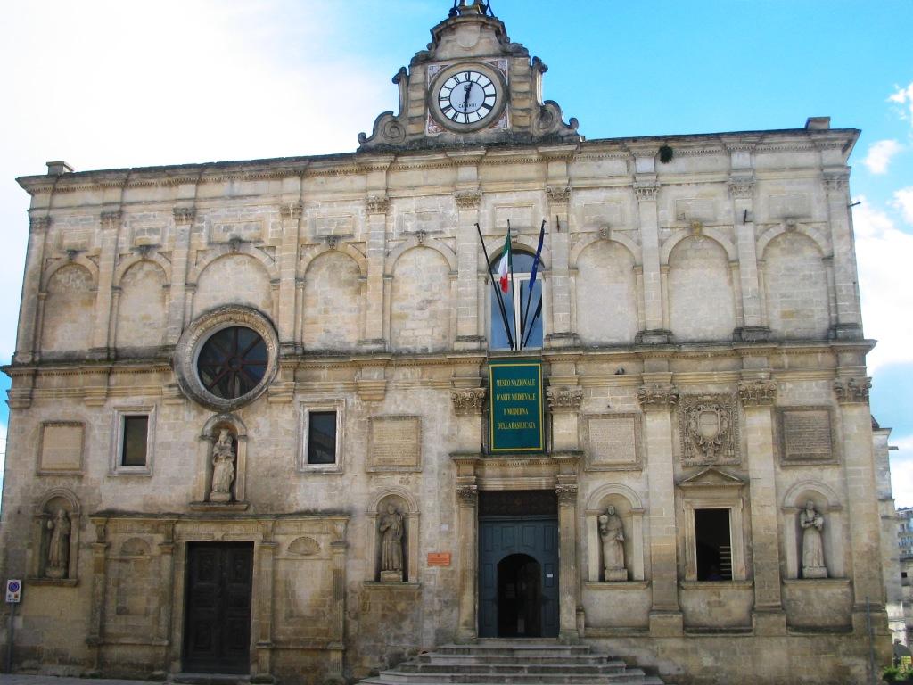 Palazzo Lanfranchi - Museo Nazionale di arte medievale e moderna della Basilicata - Matera