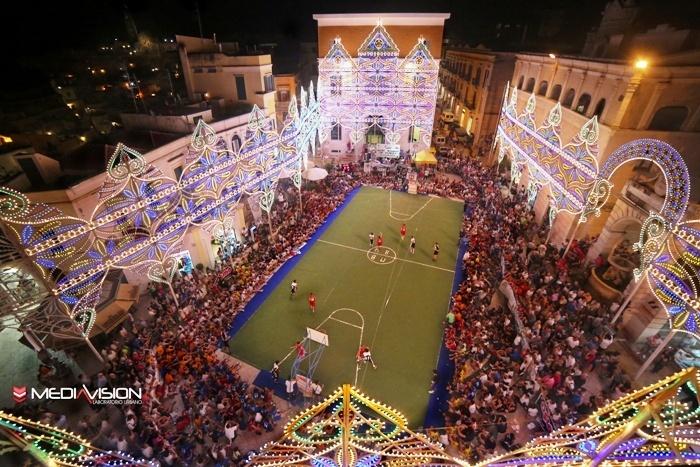 La finale del 2013 in Piazza Vittorio Veneto