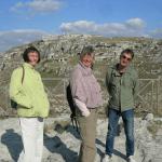 Signore danesi in visita a Matera