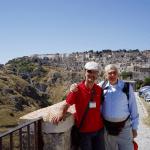 Signore di Albenga (Savona) in visita a Matera