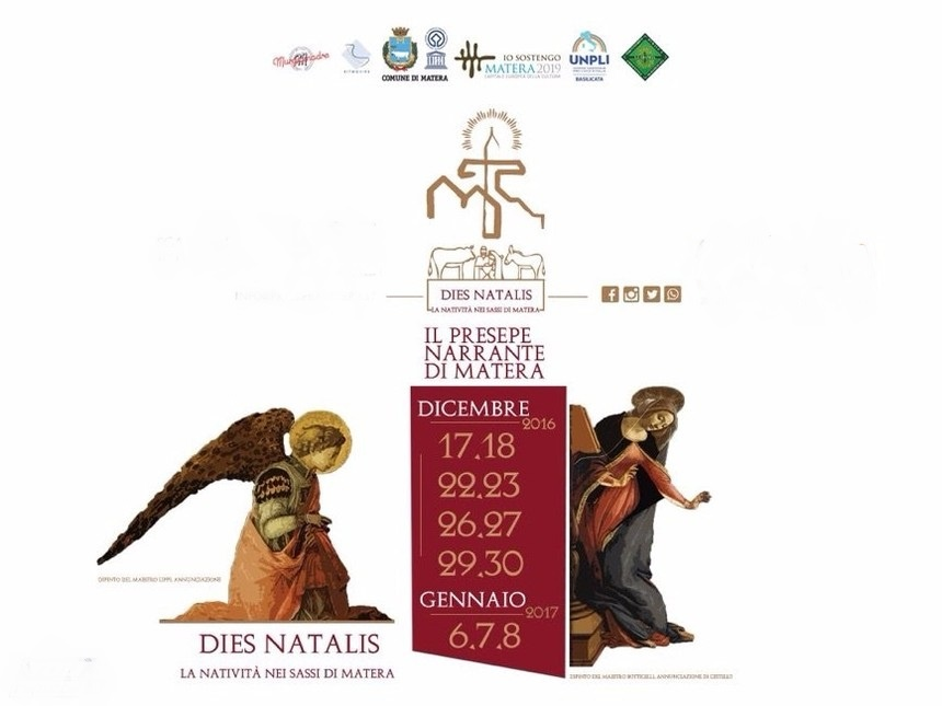 Lights, sounds, colors … the magic of Christmas in Matera